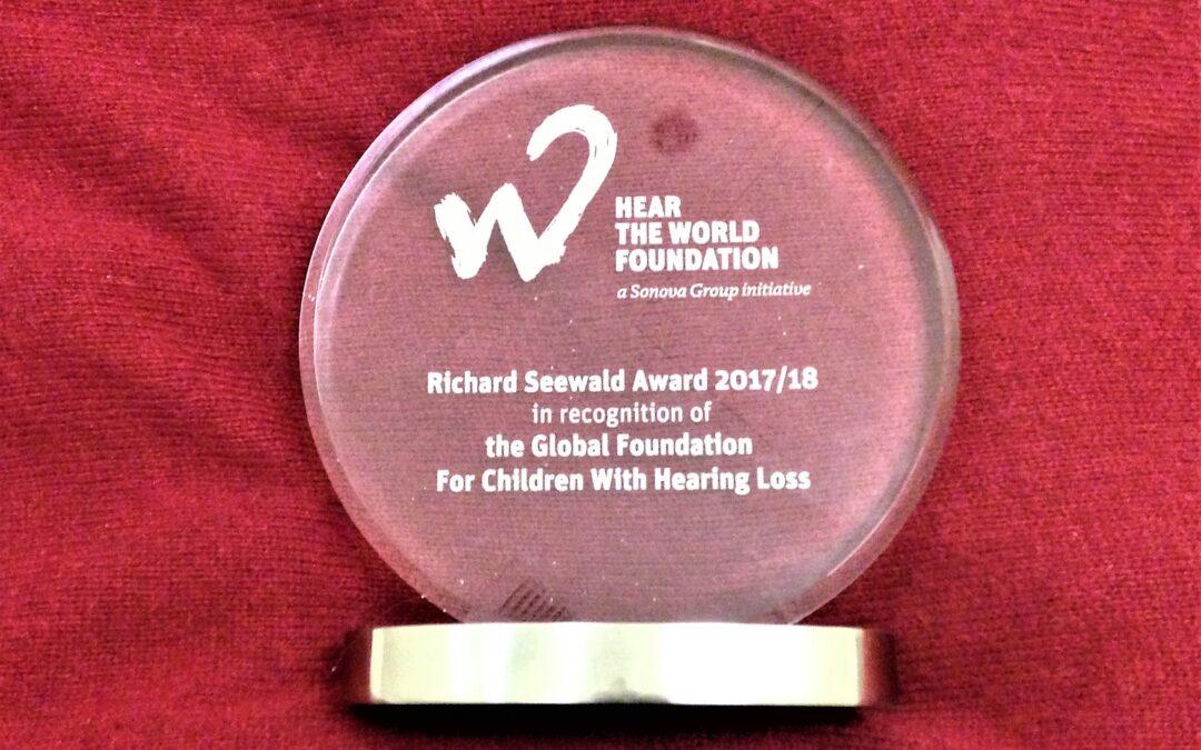 Global Foundation Receives 2017/18 Richard Seewald Award